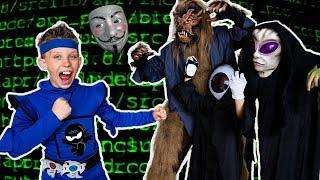 Paxton ESCAPE HACKER VR World! Ninja Kidz