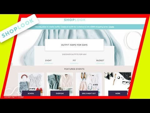 How to use Shoplook to create outfits-Polyvore alternative