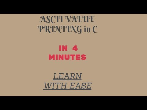 How to write a C PROGRAM TO PRINT ASCII VALUE OF CHARACTER  USING COMMAND LINE BY C MADE EASY