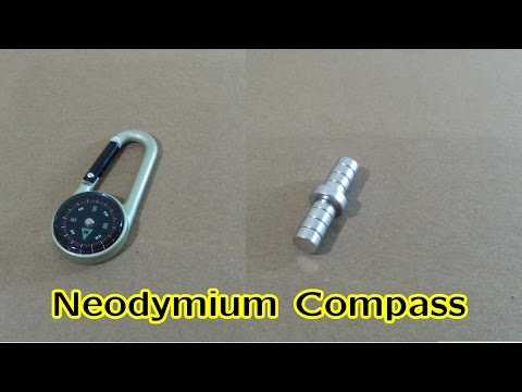 Neodymium Magnet as Compass