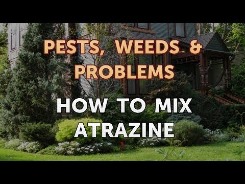 How to Mix Atrazine