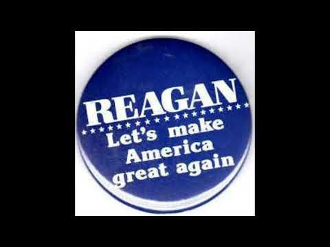 Ronald Reagan let's make america great again