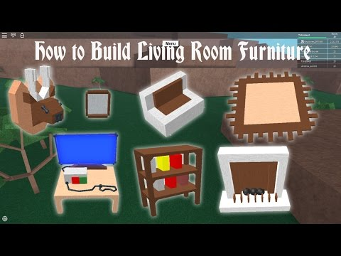 Lumber tycoon 2 | How to Build Living Room Furniture