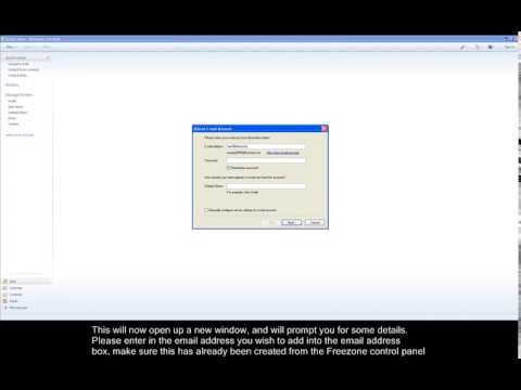 How to set up your emails in windows live mail