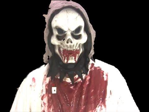DIY Fake Blood Makeup for Halloween Costumes