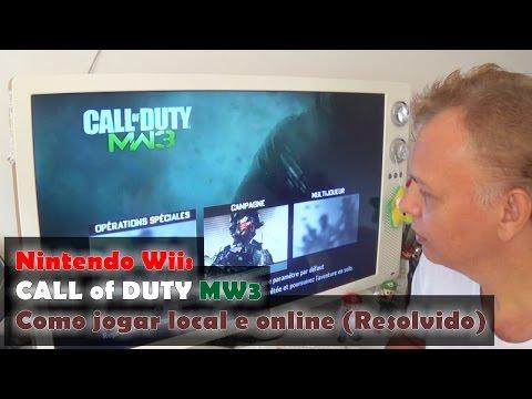Nintendo Wii: Call Of Duty MW3 - Como jogar local e online Resolvido.