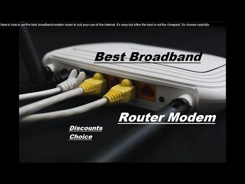 Best 3G Wireless Broadband Modems - How To Improve Your Wireless Broadband Signal