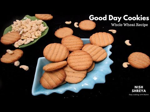 Good Day Cookies Recipe | Cashew Butter Good Day Cookies |