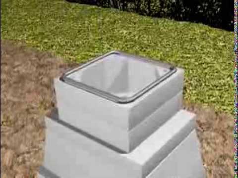 Isokern Outdoor Fireplace 3-D Installation video