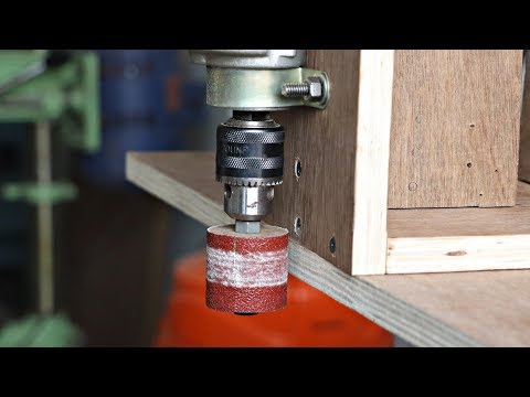 Drill Hack || Make A Woodworking Project Using Drill