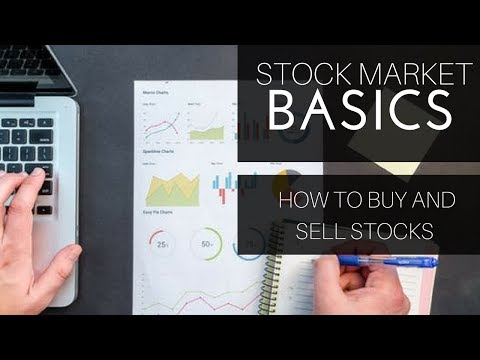 How to buy and sell stocks in the stock market!