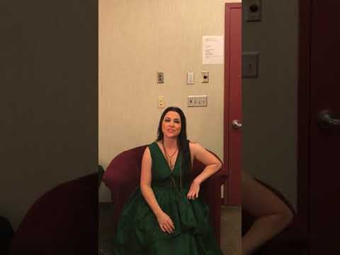 Amy Lee - Message to Australian fans (01/09/2018)