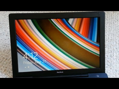 Apple MacBook Windows 8 Installation and Observations