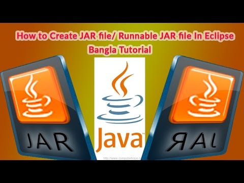 How to create an Executable Jar File in Eclipse with a Java  (Bangla Tutorial)