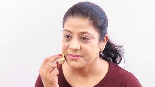 फाउंडेशन कैसे लगाएं| How To Apply Foundation For Full Coverage for Natural Look