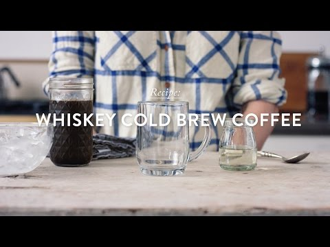Whiskey Cold Brew Coffee