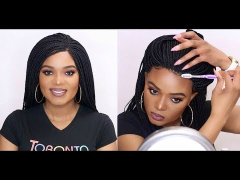 OMG! ISSA WIG!! REALISTIC BOX BRAID WIG FOR LESS FT. ANNE ELISE REAL HAIR | OMABELLETV