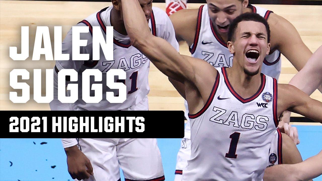Jalen Suggs 2021 NCAA tournament highlights