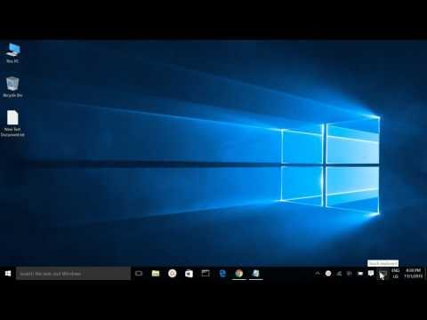 Windows 10, Show/Hide Touch Keyboard Icon from Taskbar