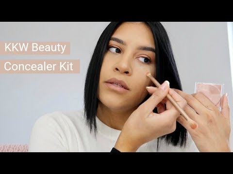 KKW Beauty Concealer Kit | Review & Try On