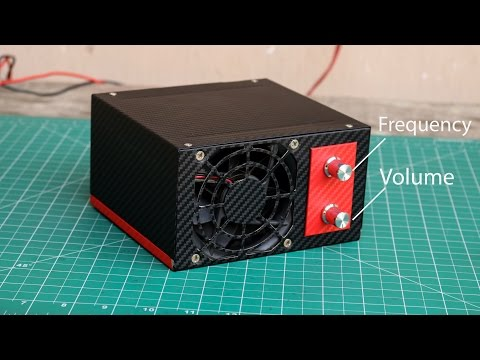 How to make a 600 watt Amplifier