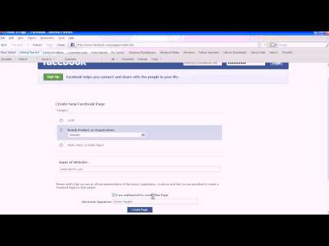 How to set up a Fan Page on Facebook for your Business