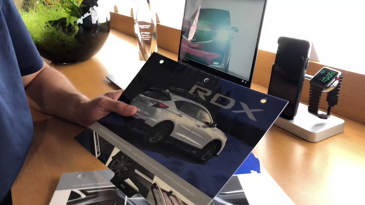 Your first quick look on our 2019 Acura RDX accessories look book