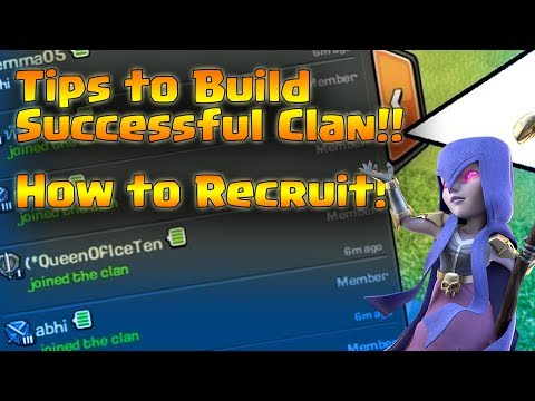 How To Fill Your Clan Fast!!! Tips to Recruit High Level Members!! Fill the Clan in 10 Minutes!