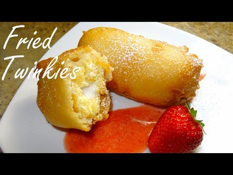 Fried Twinkies - Fair Food Collab with No Hippie BBQ and Cooking - dessert
