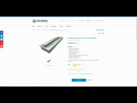 Eubiq Malaysia - Ordering Customised Power Track Online