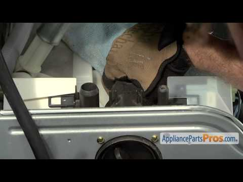 Washer Drain Pump Motor (part #4681EA2001T) - How To Replace