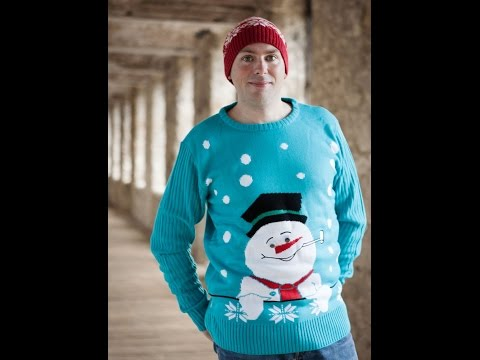 Mens Snowman Jumper From The Christmas Jumper Company