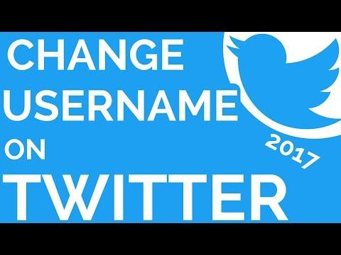 Twitter: How To Change Username