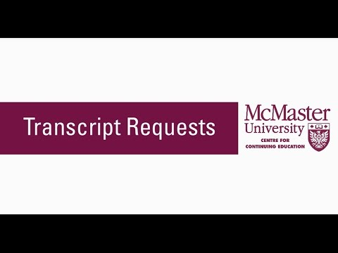 Accessing official and unofficial transcripts through the Mosaic system