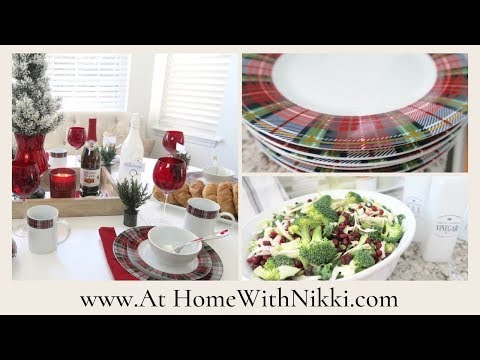 SIMPLE HOME ENTERTAINING | MY CHRISTMAS LUNCH PREP