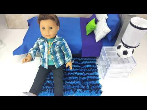 DIY RUG for American Girl Doll