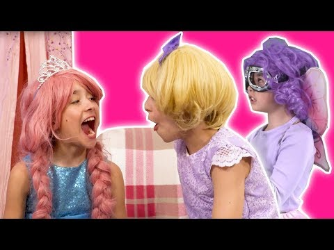PRINCESS OLIVIA'S TOOTH FELL OUT! 😬 Tooth Fairy Prank - Princesses In Real Life | Kiddyzuzaa
