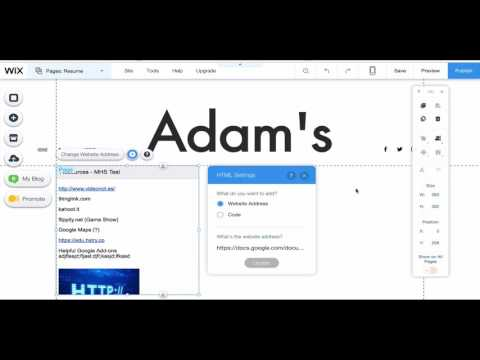 Embedding Google Docs on a Wix Page