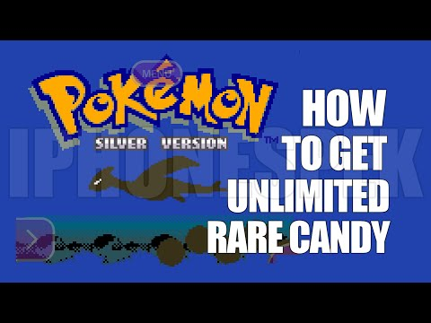 How to get Unlimited Rare Candy Pokemon Silver GBA4IOS iPhone iOS 11 10 9 iPad
