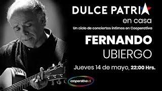 """🎧🎤🎼 Fernando Ubiergo en el """"Ciclo Dulce Patria en Casa"""""""