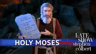 Moses Updates The Ten Commandments