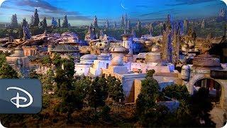 star warsinspired land model disney parks