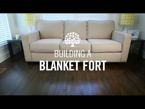 Traditional Blanket Fort