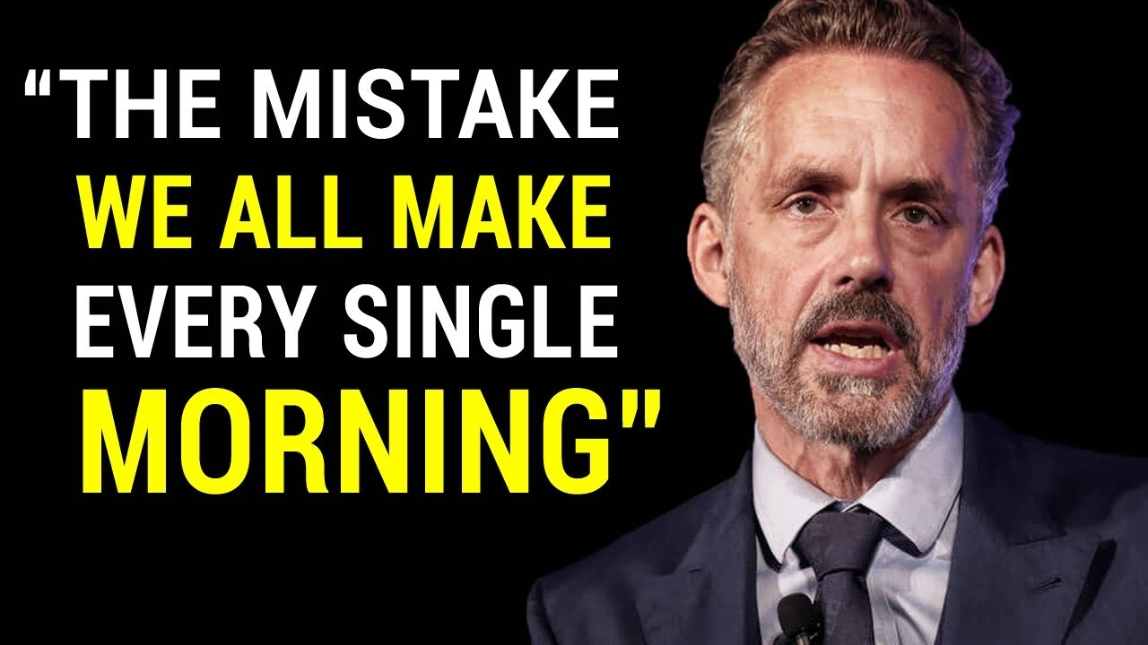 The Choice We All Have , But Only a Few Apply It   Jordan Peterson