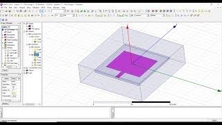 Metamaterial FSS unit cell Design USING HFSS PART 1 - PakVim