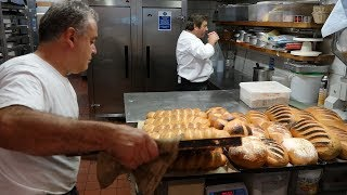 Heat of the Master Bakers Bakery - Baking 100's of Breads at 6:00am in the  morning at Camden Bakery