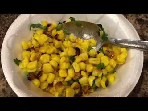 Chilli Roasted Corn Recipe