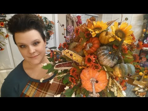 Fall Thanksgiving Cornucopia / Horn of Plenty