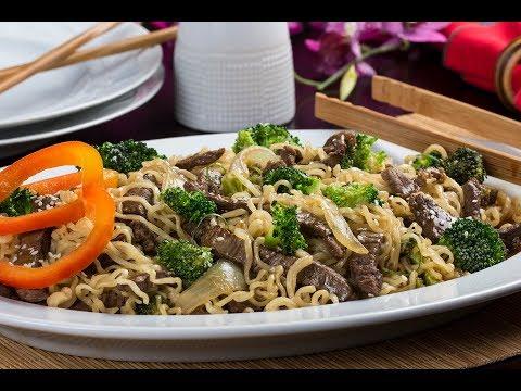Beef 'n' Broccoli Noodle Toss