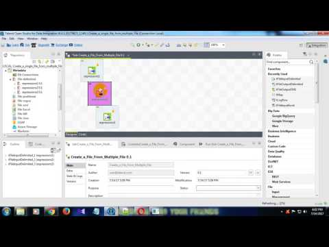 Into a Single File how to Append Multiple Files in Talend Open Studio
